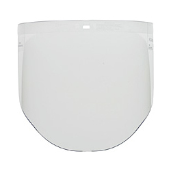 3M 9'' CLEAR POLYCARB VISOR for use with H8 HEADGEAR RATCHET ADJ 82501