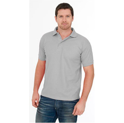 Uneek Premium Polo Shirt HEATHER GREY
