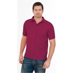 Uneek Premium Polo Shirt MAROON