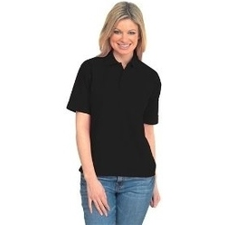 Uneek UC105 - Active Pique Polo Shirt BLACK