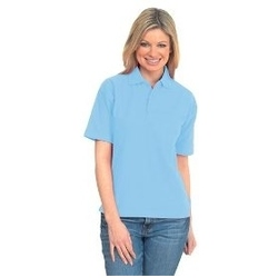 Uneek UC105 - Active Pique Polo Shirt SKY BLUE