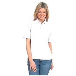 Uneek UC105 - Active Pique Polo Shirt WHITE