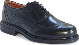 Mens Leather Brogue